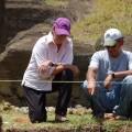 EISP Project Directors Jo Anne Van Tilburg and Cristián Arévalo Pakarati. © EISP 2011