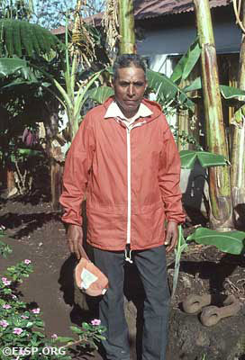 Field Assistant and respected Rapanui elder, Felipe Teao A.