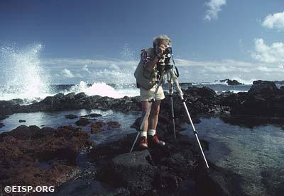 EISP photographer David C. Ochsner. ©1983 EISP/Photo: J. Van Tilburg.