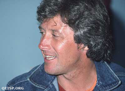 Johannes (Jan) Van Tilburg. ©1983 EISP/JVT/Photo: D. C. Ochsner.