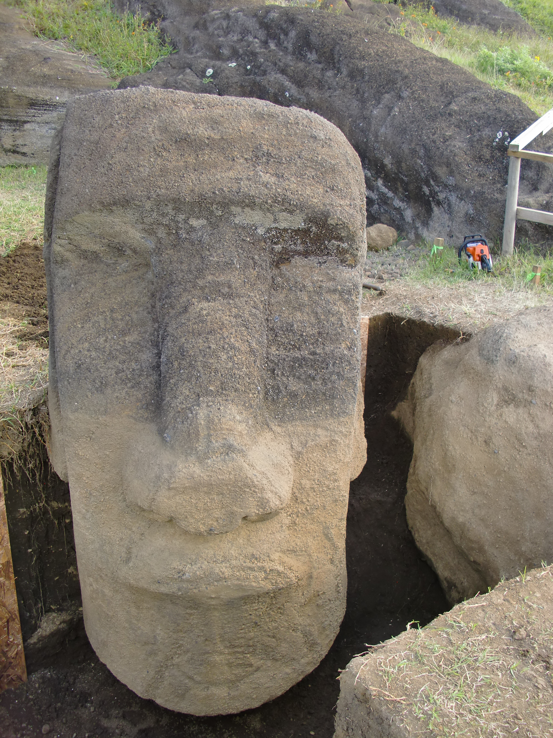 Easter island statues carbon dating