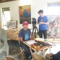 PBS Newshour on Rapa Nui, 2018: Jeffrey Brown and Jo Anne Van Tilburg in Rano Raraku quarry