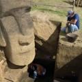 Excavation; Moai RR-001-156. © EISP.ORG 2013