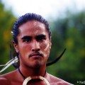 Professional Rapa Nui dancer. © Nathan Myhrvold
