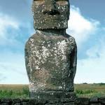 Ahu Akivi, Moai 1 © EISP/JVT/Photo: J. Van Tilburg